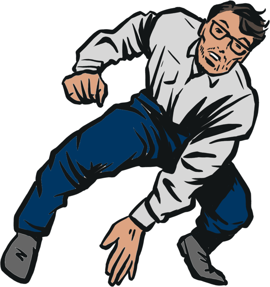 Homepage Animation - White Shirted Man