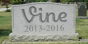Vine Gravestone